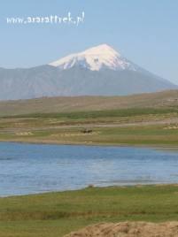 Ararat - widok od Jeziora Rybnego